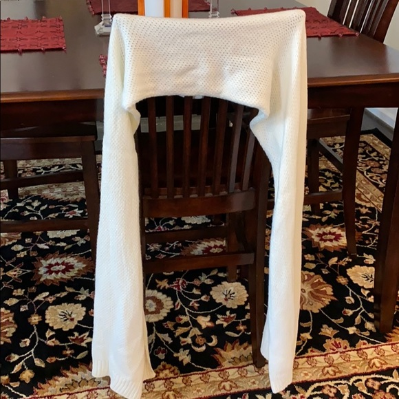 Merona Accessories - Gently Used Long White Scarf/Wrap
